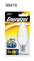 Energizer LED Candle 470lm E14 Daylight SES - 5.9w